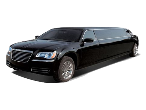 Black Chrysler 300 Stretch Limousine