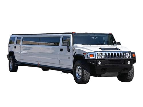 White Hummer Stretch Limousine